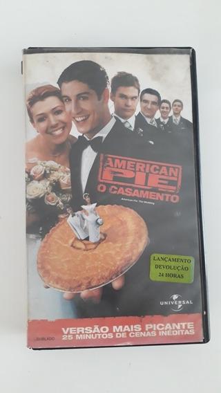 Filme Fita Vhs- American Pie- O Casamento- Dublado Ano 2000