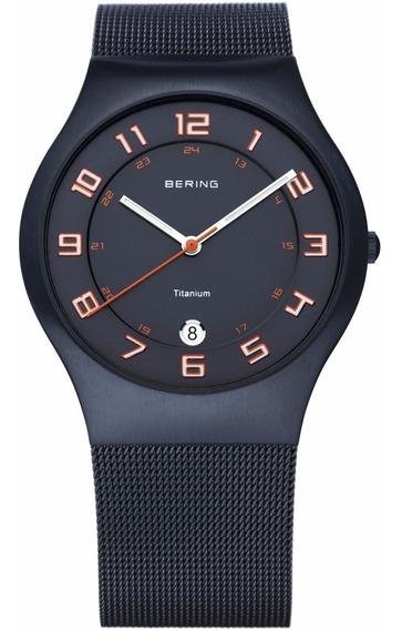 Relógio Bering Time Super Slim Titanium 11937-393