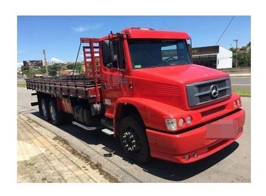 Cabine Completa Mercedes 1620 Vermelho