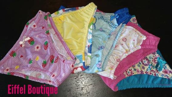 Pantys Niñas Pantaletas 100% Algodon Moda Completas