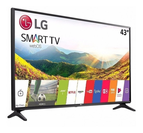 Tv LG 43  Smart Tv 43 Pulgadas + Soporte Pared Inc. Factura