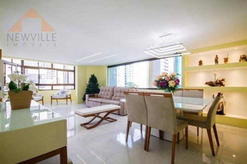 Apartamento Com 4 Quartos À Venda, 163 M² Por R$ 740.000 - Boa Viagem - Recife/pe - Ap2339