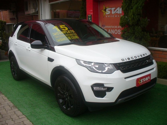 Land Rover Discovery Sport Se Aut. 4x4 2015 Starveiculos