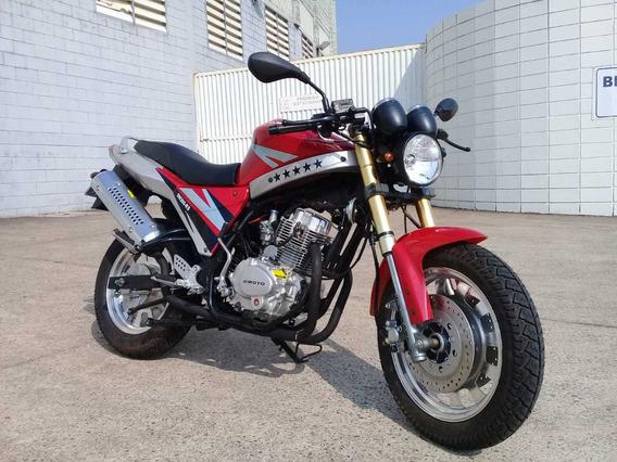 Moto Importada 0 Km Estilo Café Racing Veja Descrição.