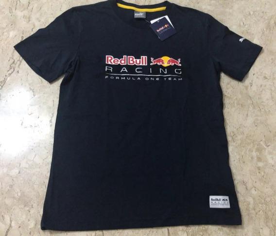 Camiseta Puma Red Bull Racing Graphic Marinho