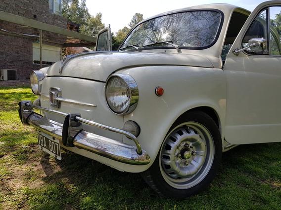 Fiat 600 E 1969 Blanco