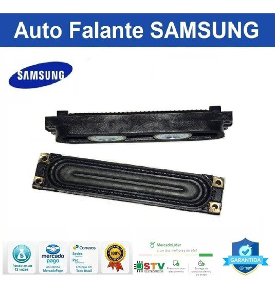 Par Auto Falante Adaptavel Samsung Un40f5200 40f5500 40f6400