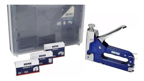 Engrapadora Grapadora Metalica Triple Bremen (6661) 4-14mm