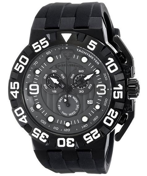Relógio Suíço De Pulso Swiss Legend Challenger Na Caixa