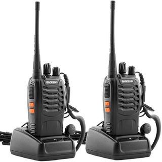 Combo 2 Radios Baofeng Bf-888s 2019 20km Audifonos El Mejor!