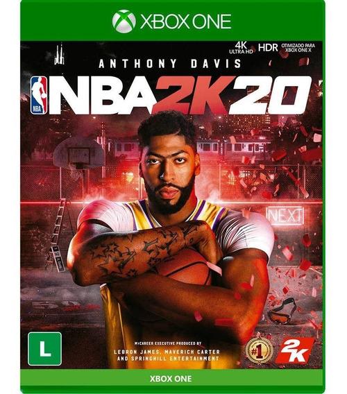 Nba 2k20 Xbox One Mídia Física Lacrado Pronta Entrega