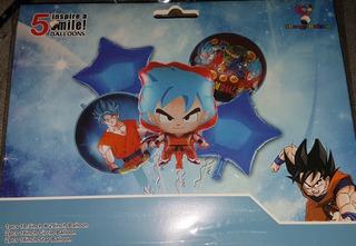 Globos Dragon Ball Set Combo Fiesta Dragon Ball