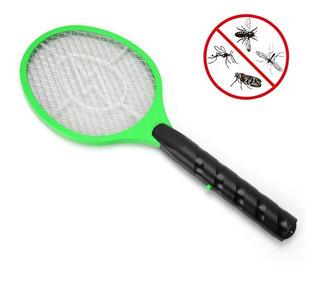 Raqueta Electrónica Recargable Mata Moscas Mosquitos Polilla