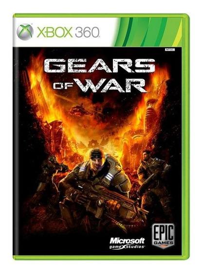 Gears Of War Xbox 360 Original Mídia Física