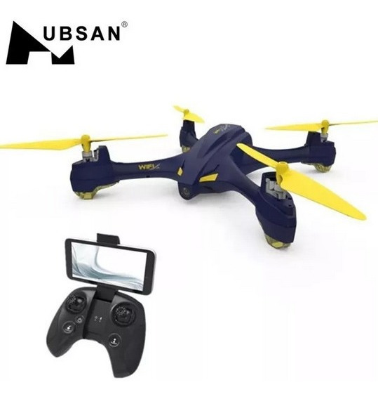 Drone Hubsan X4 H507a Camera Wifi Fpv Com Gps Altitude Hold