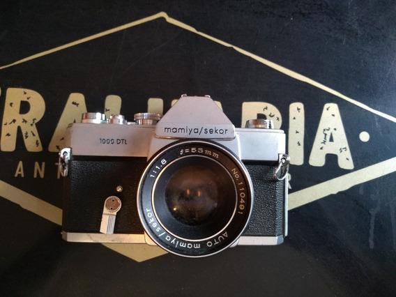 Câmera 35mm Mamiya/sekor 1000 Dtl