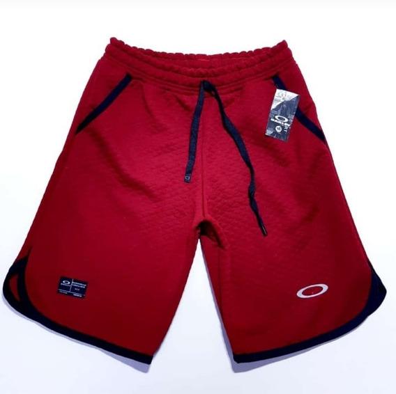 Bermudas Oakley Short Kit C/3 Moletom Promocional