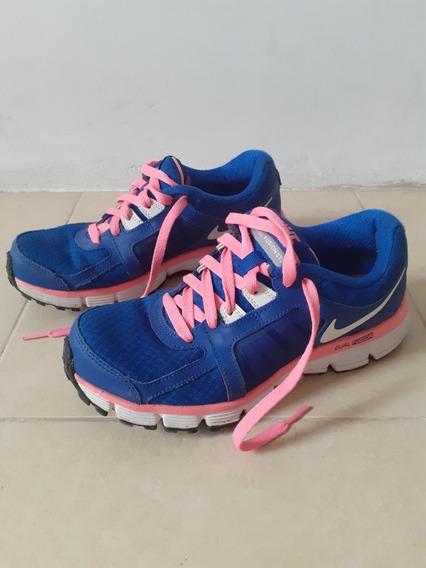 Zapatillas Azul Rosa Nike 37,5