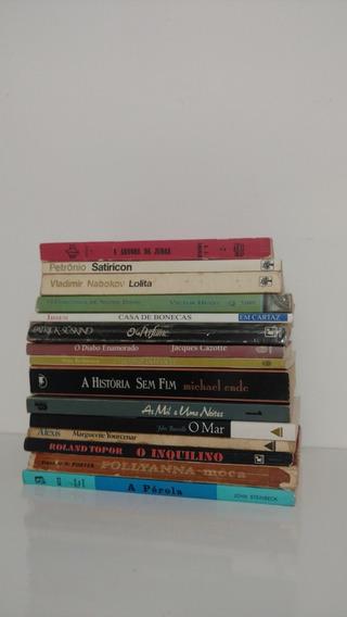 Lote 15 Livros Clássicos Da Literatura Estrangeira Ed. Raras