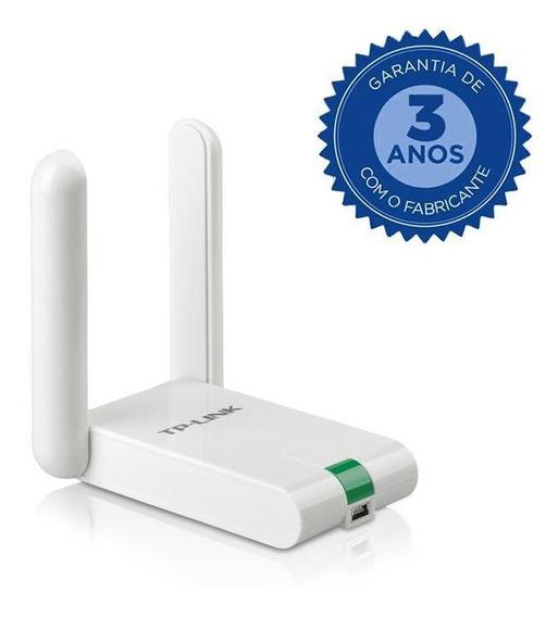Adaptador Tp-link Usb Alto Ganho 300mbps - Tl-wn822n
