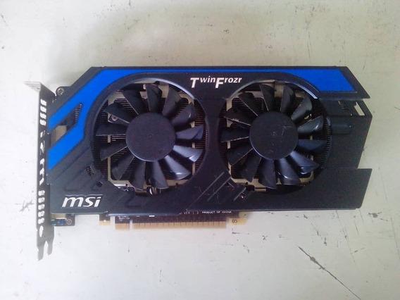 Tarjeta De Video Msi Geforce Gtx 650ti Hawk 1gb Gddr5