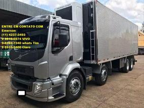Caminhão Volvo Vm 270\330 Baú Refrigerado Ou Caçamba
