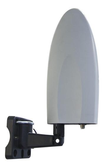 Antena De Television Para Exterior 360 Grados Aex90 Surtek