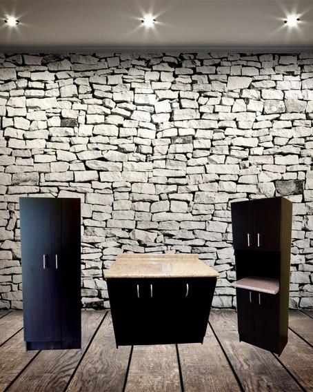 2 Alacenas + Mueble De Cocina