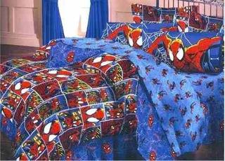 Juego De Sabanas Marvel Ultimate Spiderman En La Ciudad Tamp
