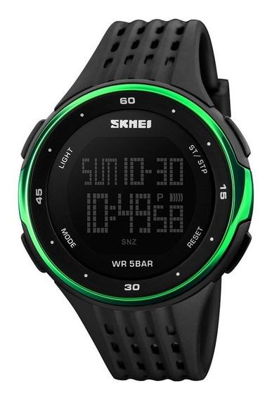 Relógio Digital Original Led Cores Presente Dia Dos Pais