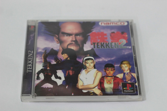 Tekken 2 Namco 100% Original Playstation 1 Ps1 Psx Psone Jpn