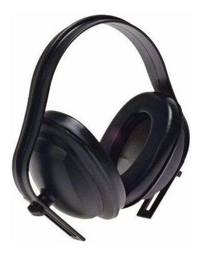 Protetor Auricular Tipo Concha 13 Db Na Cor Preta