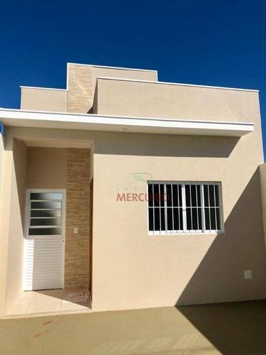 Casa Com 2 Dormitórios À Venda, 70 M² Por R$ 280.000,00 - Vila Alto Paraíso - Bauru/sp - Ca3276