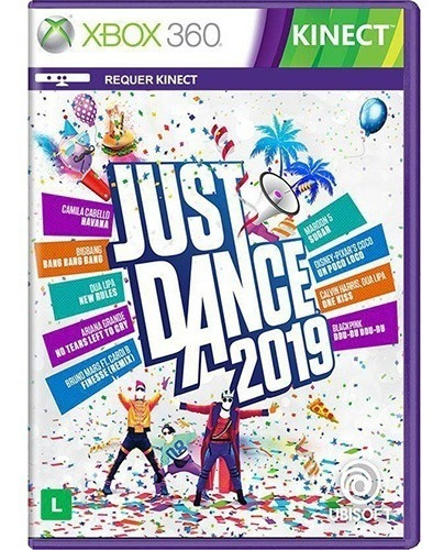 Just Dance 2019 Xbox 360 Midia Digital