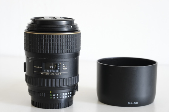 Lente Tokina 100mm F/2.8 Macro At-x M100 Pro D Para Nikon Af
