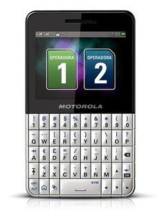 Smartphone Motorola Motokey Ex119 Branco/preto