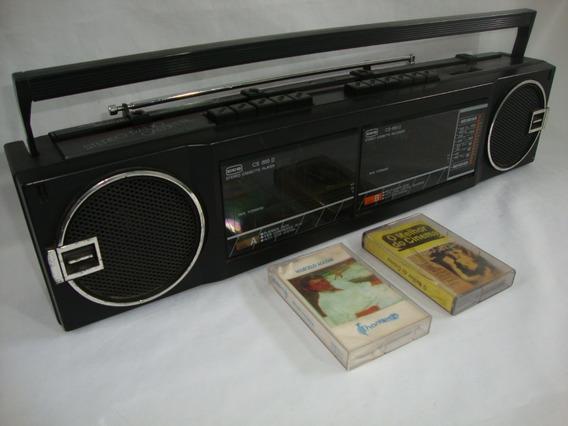 Antigo Radio Toca Fitas Cce Am E Fm Funcionando Cs 855 D