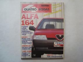 Revista Quatro Rodas - N.361 / Agosto De 1990