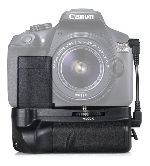 Battery Grip Para Camera Canon T3 T5 T6 + Postagem Turbo!