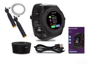 Relógio Multiwatch Plus Sw2 Bluetooth Multilaser + Brinde