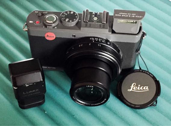 Camera Leica D-lux 6 G-star Raw Edition C/ Viewfinder Fotos Reais
