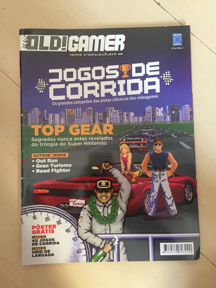Revista Old Gamer 27 Road Fighter Top Gear Out Run Z012