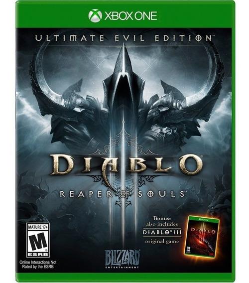 Diablo 3 Reaper Of Souls Xbox One Disco Fisico Português Br
