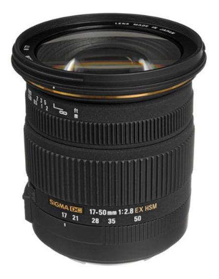 Lente Sigma 17-50mm F2.8 Ex Dc Os Hsm Para Nikon