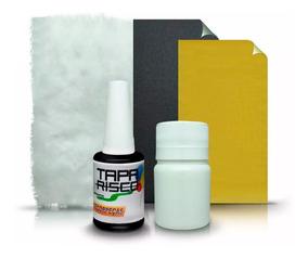 Tinta Tapa Tira Risco +kit Polimento Mercedes Preto Obsidian