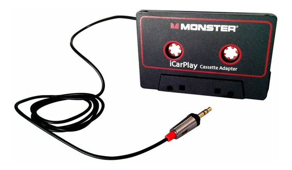 Adapt Radio Tape Deck Fita Casset K7 Monster Cable Icarplay