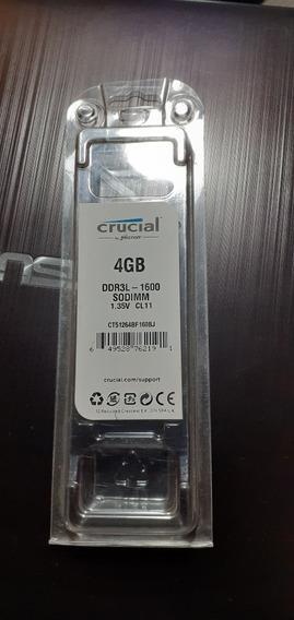 Memoria Ram Crucial 4gb Ddr3l