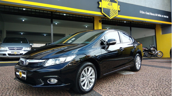 Honda Civic Lxl 1.8 Automatico Flex 2013 Impecavel