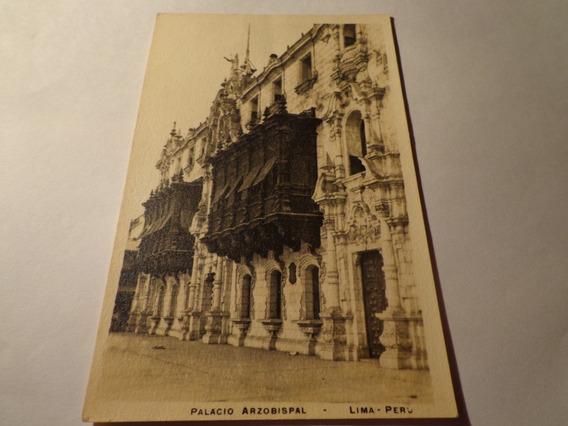 Perú- Palacio Arzobispal- Lima