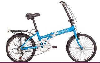 Bicicleta Plegable Raleigh Folding Straight R20 6v Aluminio